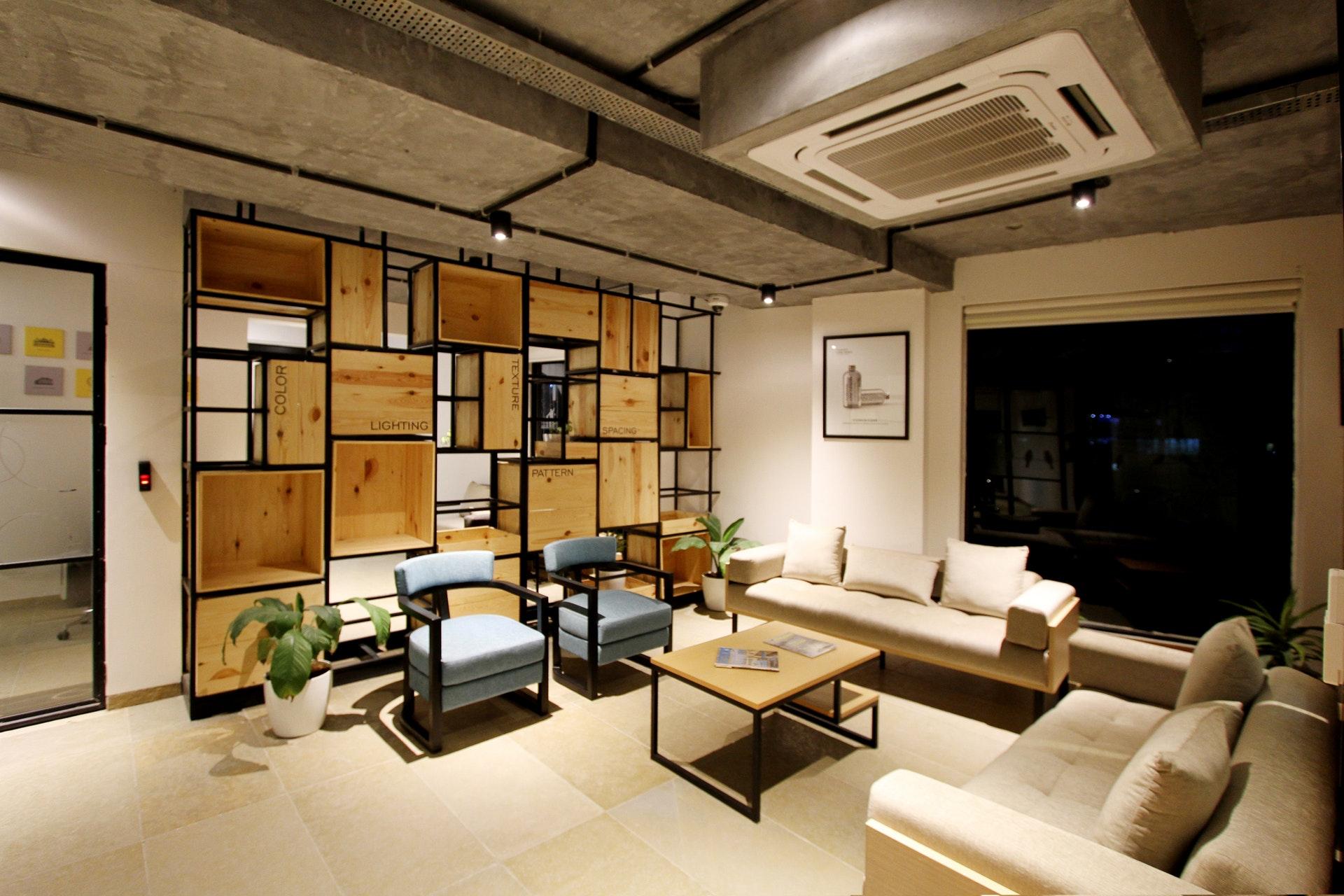 casa com decoração moderna